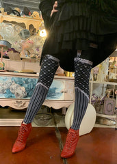 Black Ink Sweetheart Leggings