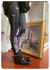 Forest Abduction Leggings - Witching Hour
