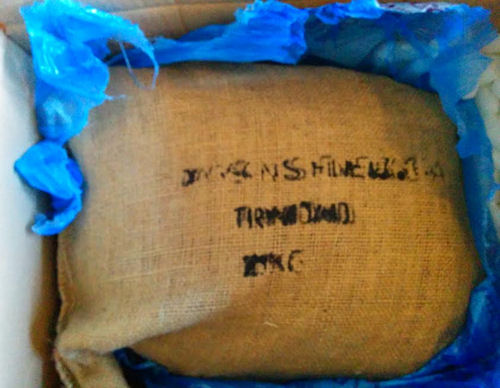 10kg sack of cocoa beans