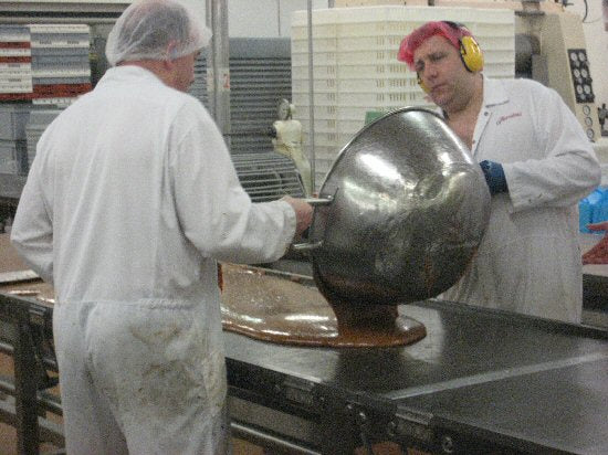 Thorntons Making Toffee