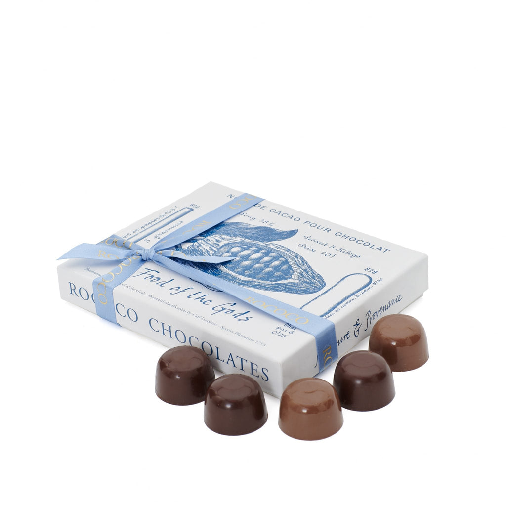 Milk and Dark Chocolate Sea Salted Caramels