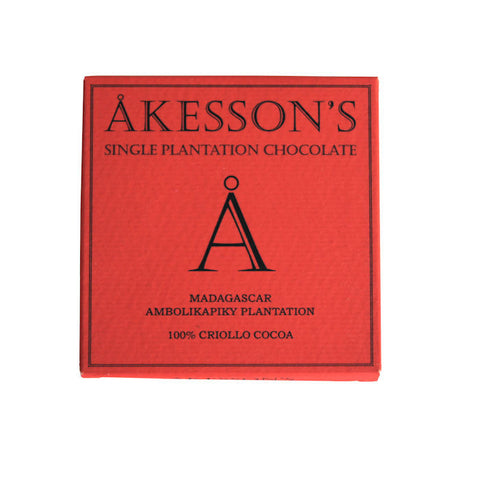 Akesson's 100% Criollo Dark Chocolate