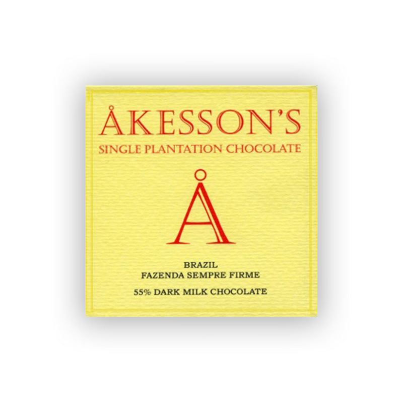 Akessons Brazil Dark Milk 55%