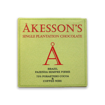 Akessons Brazil 75% With Coffee Nibs
