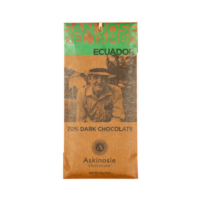 Askinosie Del Tambo Ecuador 70% Dark Chocolate