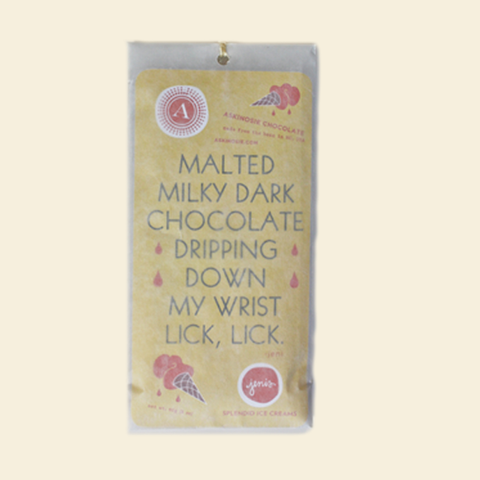 Askinosie 60% Malted Milk Dark Chocolate