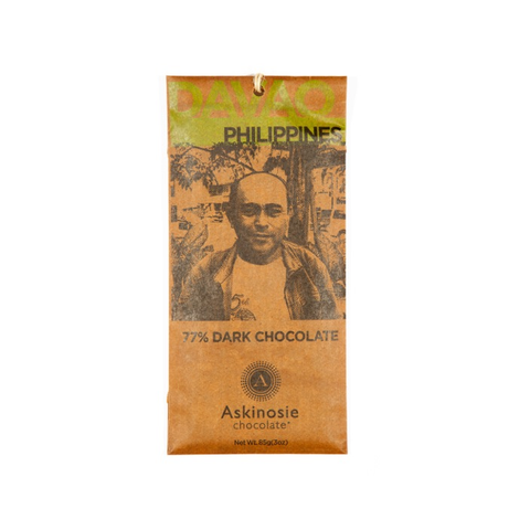 Askinosie Philippines 77% Dark Chocolate