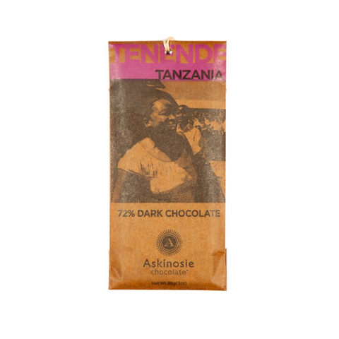 Askinosie Tanzania 72% Dark Chocolate