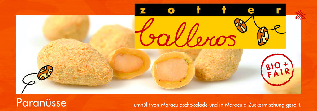 Zotter Brazil Nuts Balleros