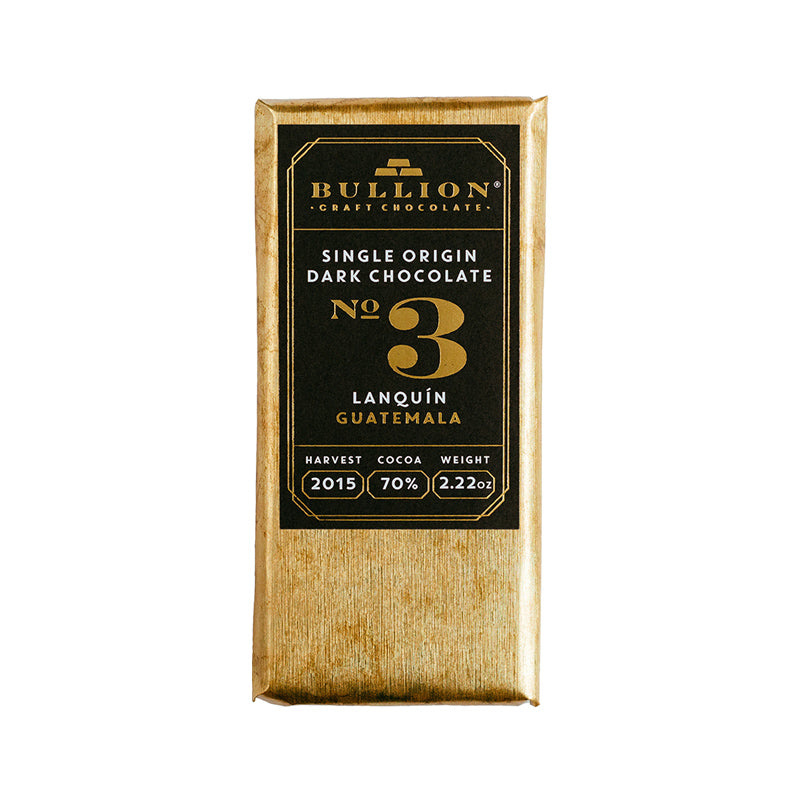 Bullion Chocolate No3 Guatemala Lanquin