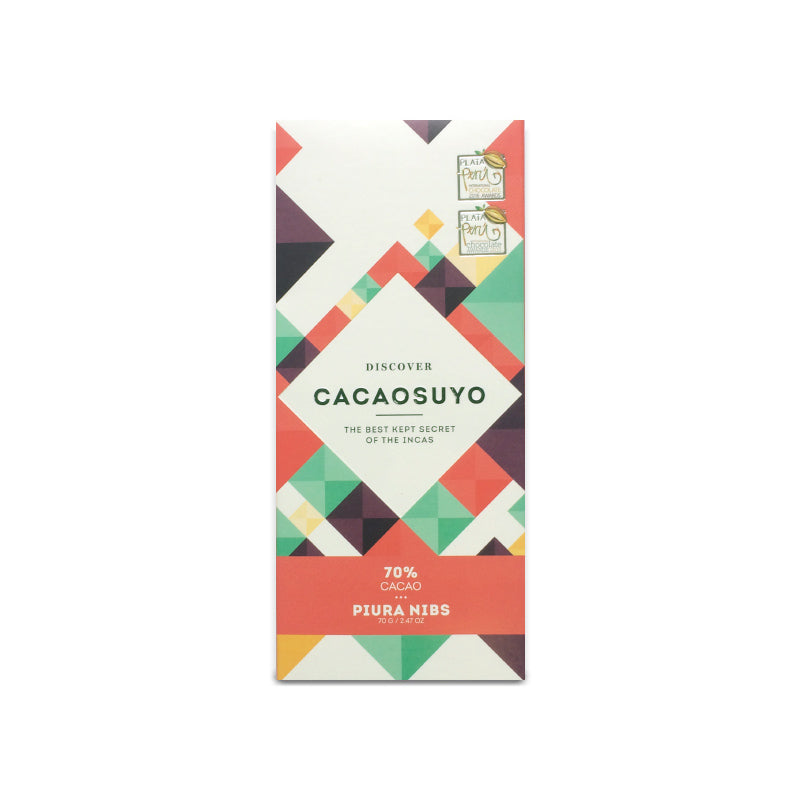 Cacaosuyo Piura Nibs Dark Chocolate