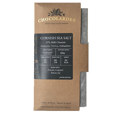 Chocolarder - 55% Madagascan Dark Milk with Sea Salt
