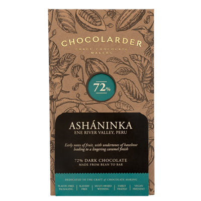 Chocolarder Asháninka 70% Dark Chocolate Bar