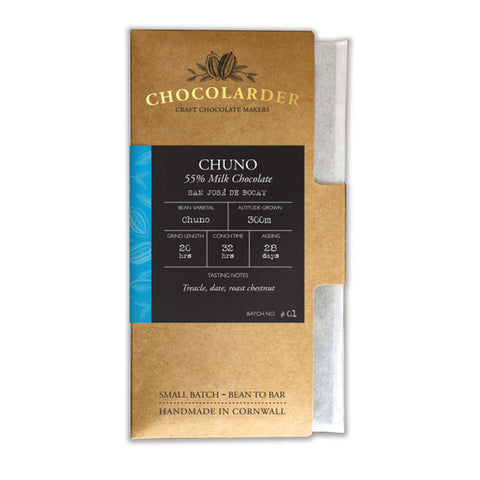 Chocolarder - Chuno 55% Dark Milk Chocolate Bar