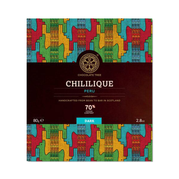 The Chocolate Tree Peru Chililique Dark Chocolate