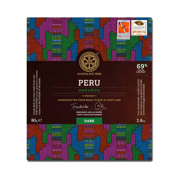 The Chocolate Tree - Peru Maranon Dark