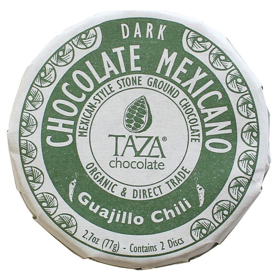 Taza Chocoate Mexicano Guajillo Chili