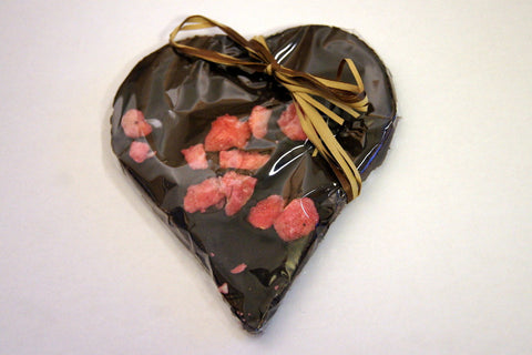 Bouga Cacao 100% Dark Chocolate With Crystallised Rose