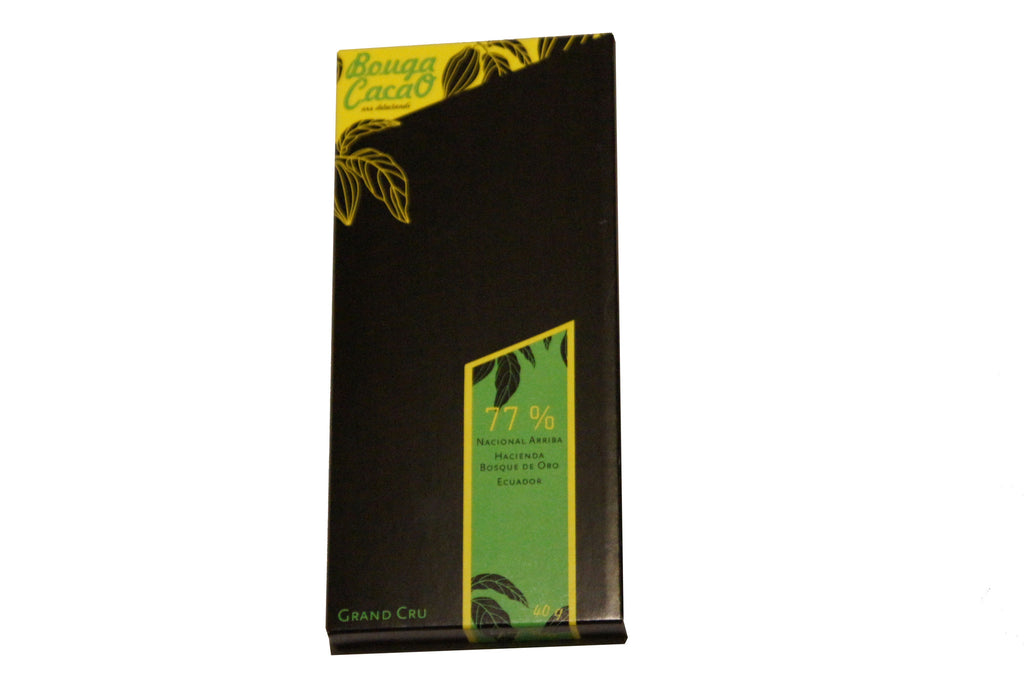 Bouga Cacao 77% Dark Chocolate