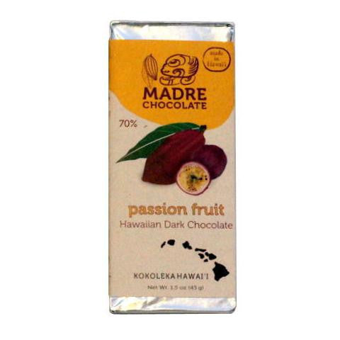 Madre 70% Passion Fruit Dark Chocolate