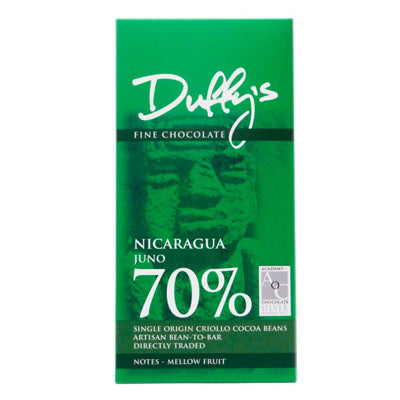 Duffy's - Juno 70% Dark Chocolate Bar
