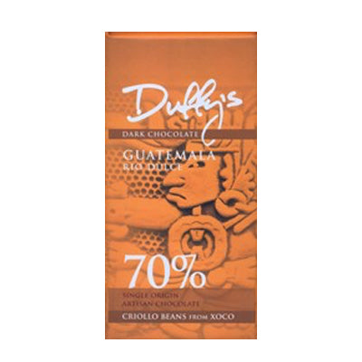 Duffy's Guatemala Rio Dulce 70% Dark Chocolate