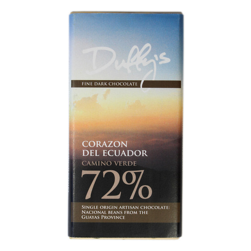 Duffy's Corazon Del Ecuador 72% (Taster Bar)