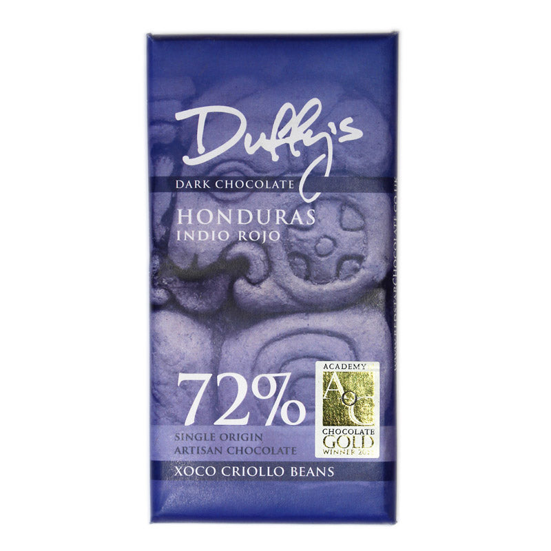 Duffy's Honduras Indio Rojo 72% Dark Chocolate
