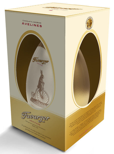 Favarger Easter Egg Héritage Vintage Metal Box with Caramel Avelines