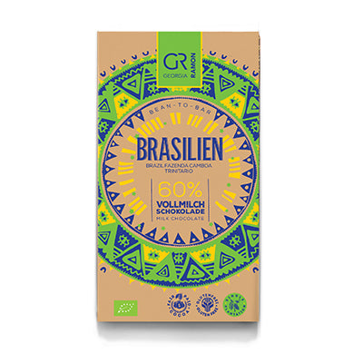 Georgia Ramon - Brasil 60% Dark Milk Chocolate Bar