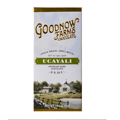 Goodnow Farms Chocolate - Ucayali, Peruvian Dark Chocolate