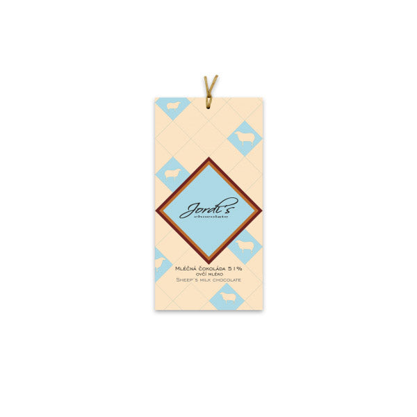 Jordi's - Sheep Milk Chocolate 51%