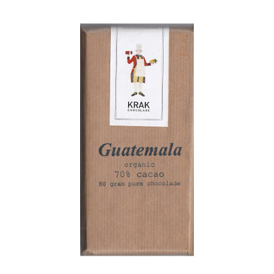 Krak Chocolade - Guatemala 70% Dark Chocolate Bar