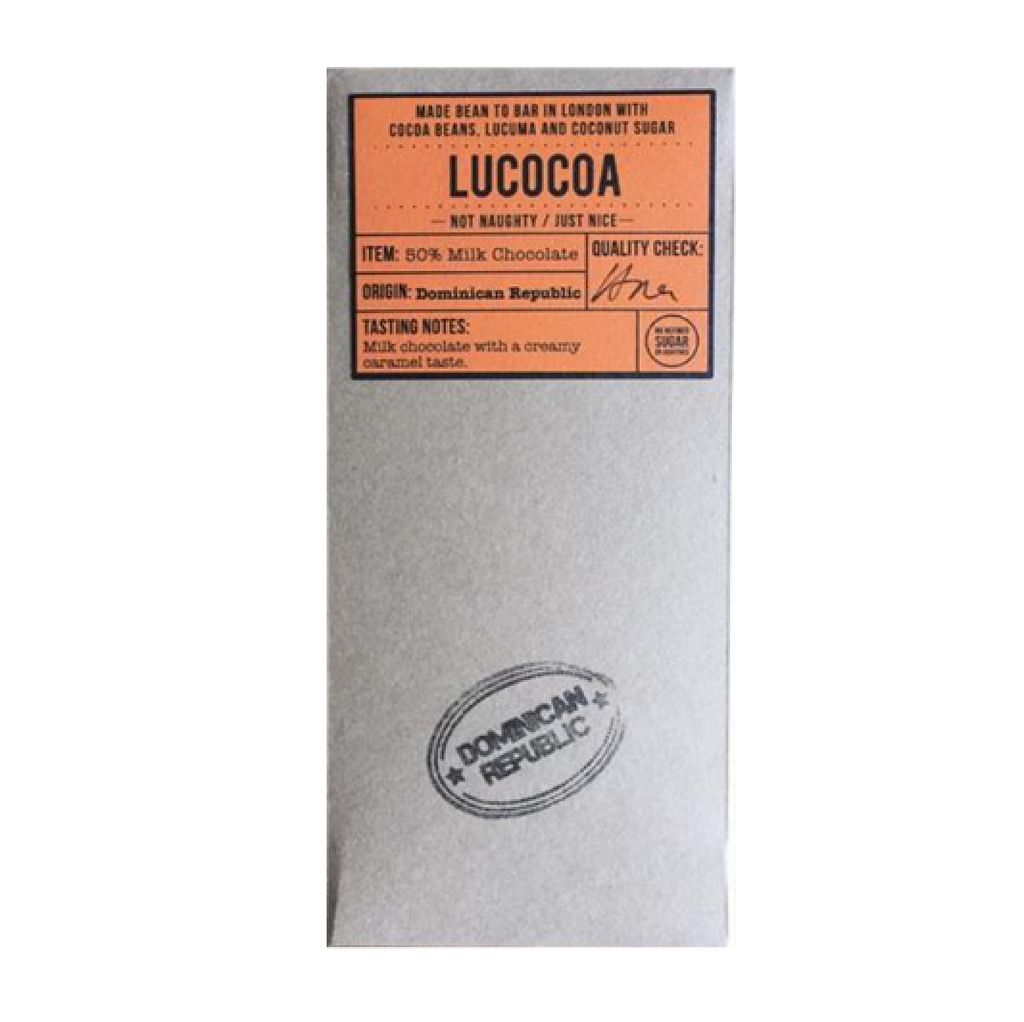 Lucocoa Dominican Republic Milk Chocolate