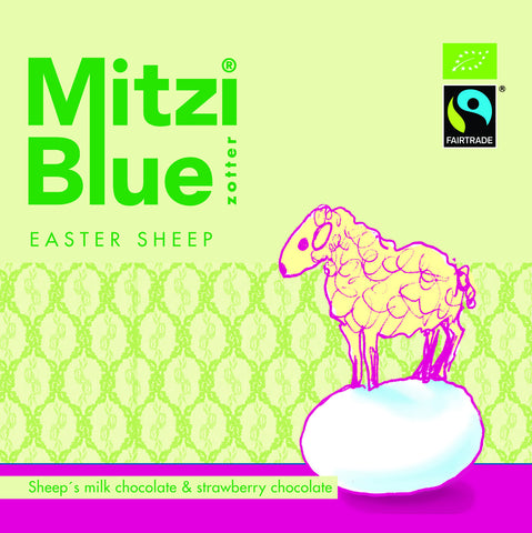 Easter Sheep - Mitzi Blue