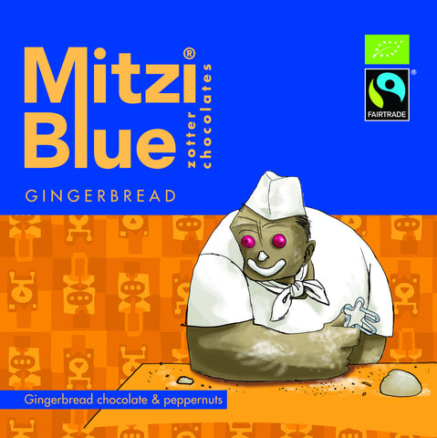 Mitzi Blue Gingerbread