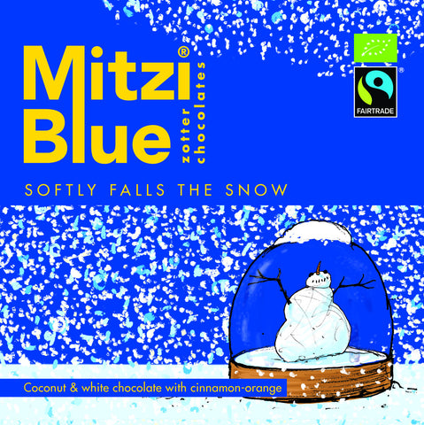 Mitzi Blue Softly Falls The Snow