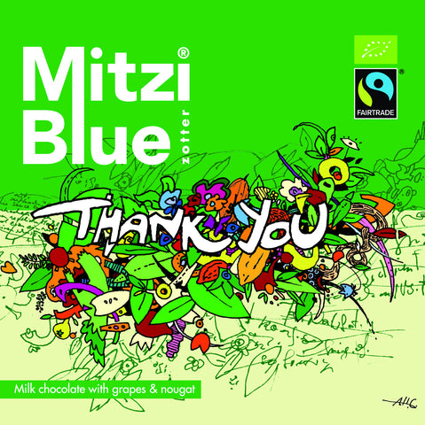 Mitzi Blue Thanks