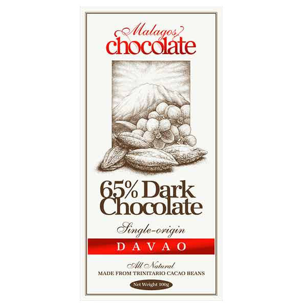 Malagos Dark Chocolate 65%