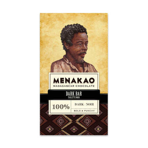 Menakao Dark Chocolate 100%