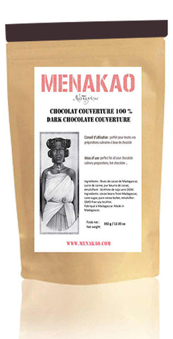 Menakao Roasted Cocoa Nibs - 340g bag
