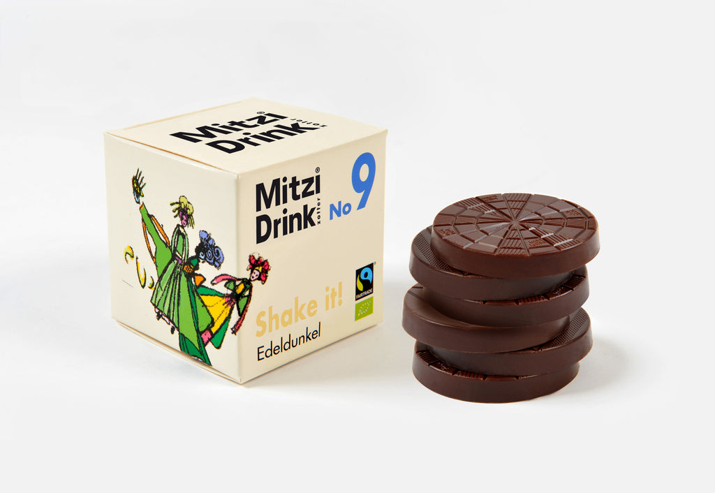 Mitzi Blue 80% Dark Drinking Chocolate