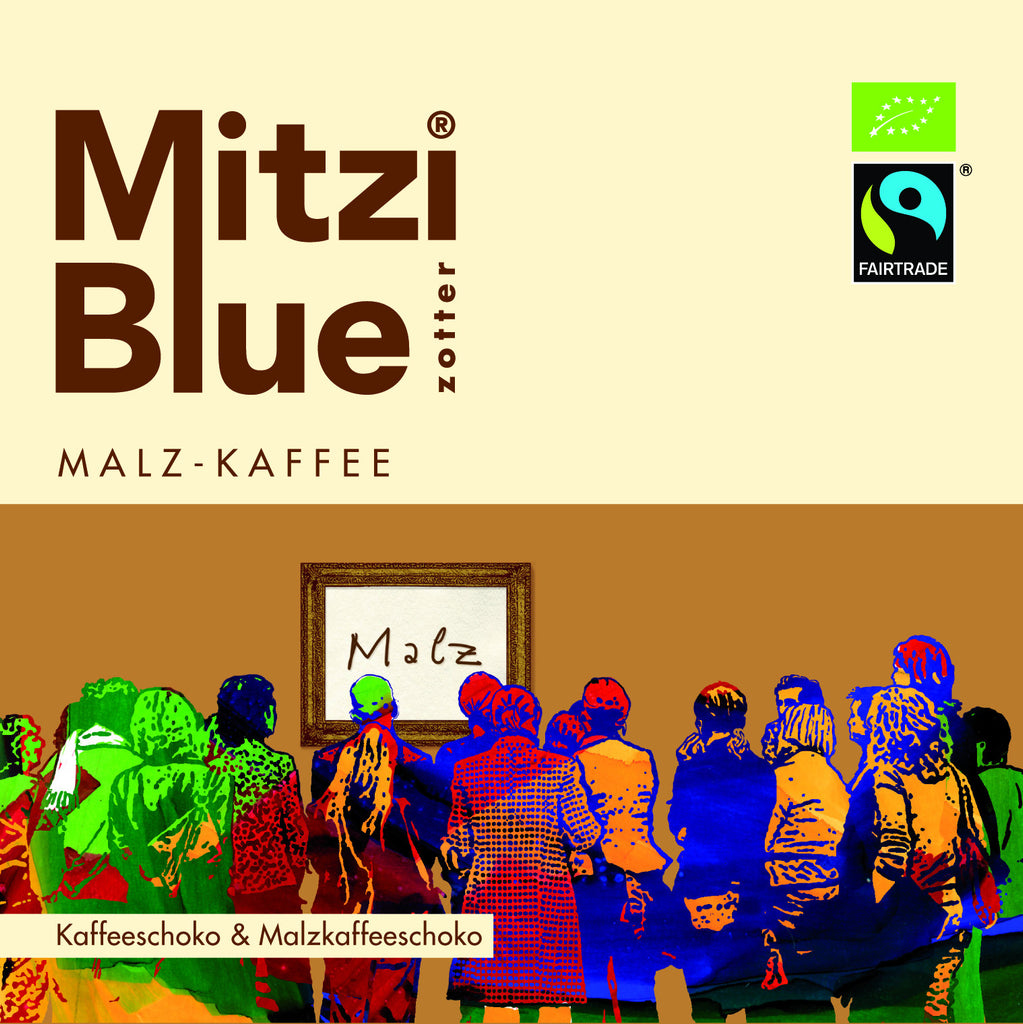 Mitzi Blue Coffee Malt