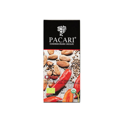 Pacari 60% Raw Chocolate with Chilli & Cumin