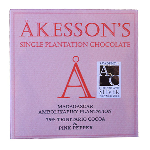 Akessons Madagascar 75% With Pink Pepper