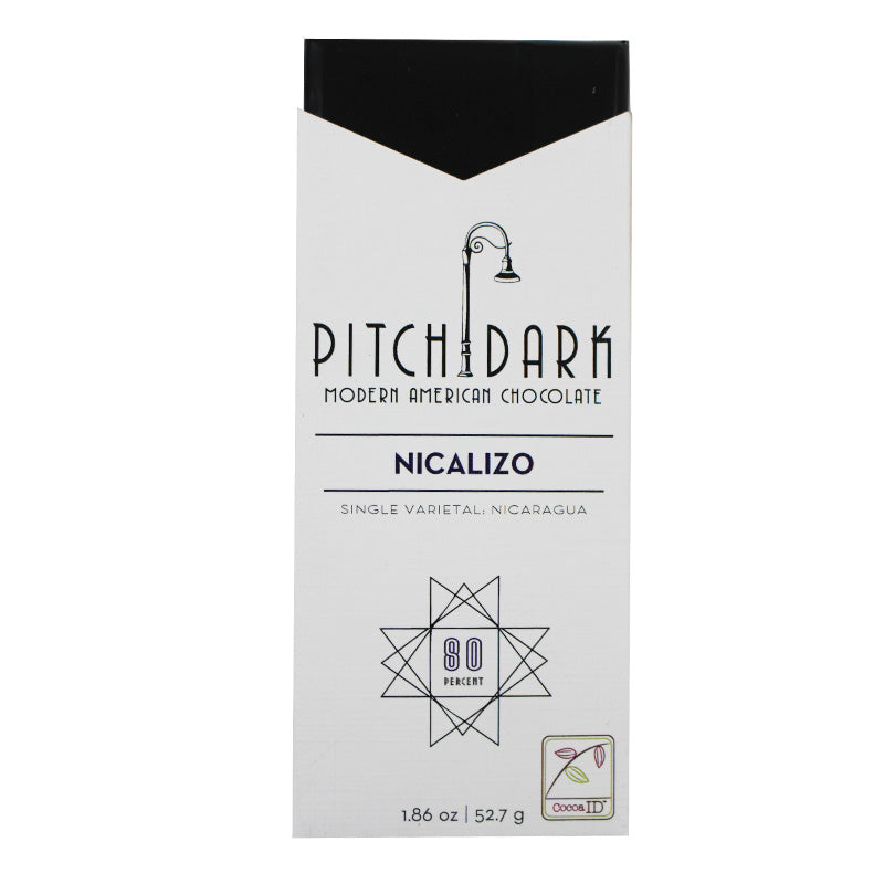 Pitch Dark, Nicalizio 80% Dark Chocolate Bar