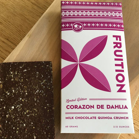 Fruition Corazon Quinoa Crunch Milk Chocolate