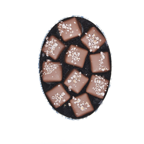 Popping Marc de Champagne Chocolate Truffles