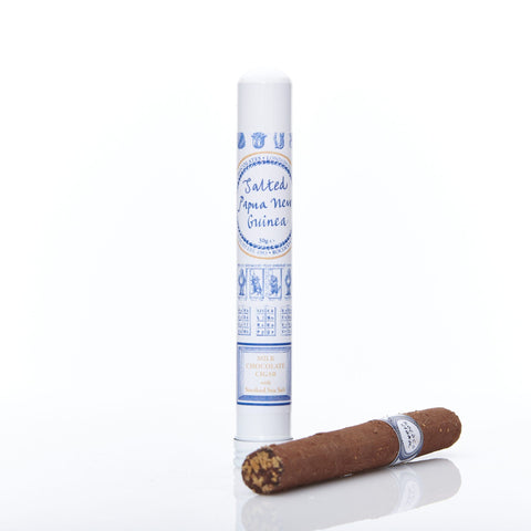 Salted Caramel Milk Chocolate Cigar