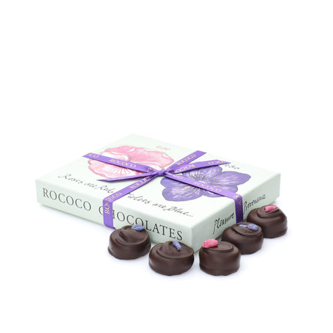 Large Rose & Violet Creams Chocolate Box